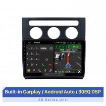 10,1-Zoll-HD-Touchscreen für 2004-2008 Volkswagen Touran Automatische Klimaanlage Auto-Stereoanlage mit Bluetooth-Unterstützung AHD-Kamera