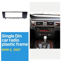 1 Din für 2007 BMW 3 Autoradio Fascia DVD-Player Rahmenverkleidung Installation Dekoriertes Panel-Kit
