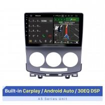 9-Zoll-HD-Touchscreen für 2005-2010 Old Mazda 5 GPS Navi Bluetooth-Autoradio Autoradio-Reparaturunterstützung Lenkradsteuerung