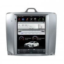 10,4 Zoll Android 9.0 Autoradio für 2005+ FORD FOCUS Auto A / C und manuelle A / C mit GPS-Radio DVD Bluetooth 3G WiFi Unterstützung SWC 3-Zonen-POP