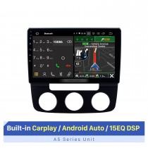 10,1 Zoll HD Touchscreen für 2006-2010 Volkswagen SAGITAR MANUAL AC Stereo Auto DVD Player Upgrade Support Carplay