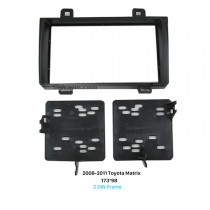 173 * 98mm Doppel-DIN 2008-2011 Toyota Matrix Autoradio Fascia Stereo Armaturenbrett Frame Panel DVD Player installieren