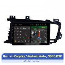 9-Zoll-HD-Touchscreen für 2011-2014 Kia k5 LHD GPS-Navigationssystem Autoradiosystem mit Bluetooth-Unterstützung Split-Screen-Display