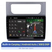 10,1 Zoll HD Touchscreen für 2011-2015 Volkswagen Touran GPS Navi Android Auto GPS Navigation Autoradio Stereo Player Unterstützung OBD2