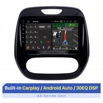 9-Zoll-HD-Touchscreen für 2011-2016 Renault Captur Automatische Klimaanlage GPS Navi Autoradio Stereo-Player Bluetooth-Autoradio-Unterstützung Drahtloses Carplay