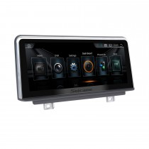 10,25 Zoll Android 10.0 HD Touchscreen 2013-2016 BMW 3er F30 / F31 / F34 / F35 Aftermarket Radio Head Unit Autoradio GPS-Navigationssystem Bluetooth-Telefonunterstützung WIFI-Lenkradsteuerung Rückfahrkamera