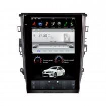 12,1 Zoll Android 9.0 Autoradio für 2013+ FORD MONDEO Manuelle Klimaanlage mit GPS-Radio DVD Bluetooth 3G WiFi-Unterstützung SWC 3-Zonen-POP-System Carplay