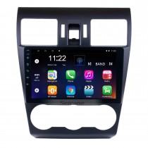 9 Zoll 1024 * 600 Touchscreen 2014 2015 2016 Subaru Forester Android 10.0 Radio GPS Navigationssystem Bluetooth Rückfahrkamera 3G WIFI Spiegelverbindung Lenkradsteuerung
