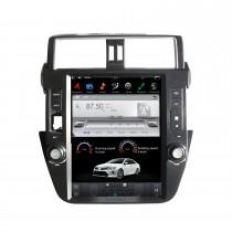 12,1 Zoll Android 9.0 Multimedia Player für 2014+ TOYOTA PRADO / LC150 / PRADO 150 Autoradio-GPS-Navigationssystem mit Bluetooth-Unterstützung Carplay