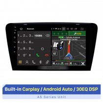 Für 2015 2016 2017 Skoda Octavia (UV) 10,1-Zoll-Autoradio Bluetooth mit RDS DSP-Unterstützung Touchscreen GPS-Navigation AHD-Kamera