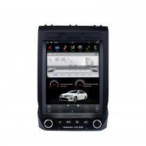 12,1 Zoll Android 9.0 Auto Stereo Multimedia Player für 2015-2018 Ford F150 Low- und High-Version GPS-Navigationssystem mit Radio DVD Bluetooth Carplay