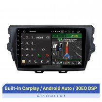 9-Zoll-Touchscreen für 2015 GREAT WALL VOLEEX C30 Car Audio-System mit drahtlosem Carplay Bluetooth-Unterstützung GPS-Navigation AHD-Kamera