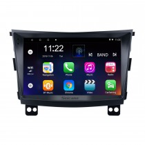 Android 10.0 HD Touchscreen 9 Zoll 2015 SSANG YONG Tivolan Radio GPS-Navigationssystem mit Bluetooth-Unterstützung Carplay