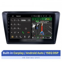 9-Zoll-HD-Touchscreen für 2018 Skoda Spaceback Rapid Multimedia-Player Autoradio Stereo-Player Unterstützung Split-Screen-Display