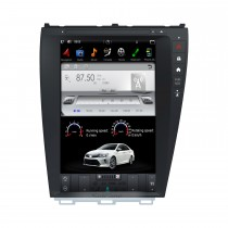 12,1 Zoll Android 9.0 Auto Stereo Sat Multimedia Player für 2006-2012 Lexus ES GPS Navigationssystem mit Bluetooth-Unterstützung Carplay