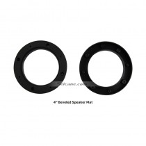 "4"" Ring Beveled Speaker Mat Plates Bracket for Universal"