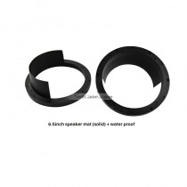 6.5 inch Solid Speaker Mat and Water Proof Cover for Universal