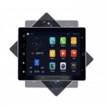 10,1 zoll 2 DIN Universal 1024 * 600 Touchscreen Android 9,0 radio GPS Navigationssystem mit WIFI 3G Bluetooth Musik USB OBD2 AUX Radio Rückfahrkamera Lenkradsteuerung