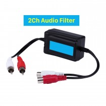 Auto Car Radio Music 2Ch Audio Filter Noise Reduction Interference Blanker