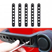 Auto-Zubehör Türgriff-Zier-Aluminium-Aufkleber-Abdeckungs-Stab-Installationssatz für Jeep-Wrangler