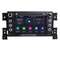 Alles in einem Android 9.0 Autoradio GPS Navi DVD-Player Head Unit für 2006 2007 2008 2009 2010 Suzuki Grand Vitara Unterstützung Bluetooth USB WIFI OBD2 DVR 1080P Video Digital TV