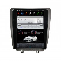 12,1 Zoll Android 9.0 Auto-Stereo-Multimedia-Player für 2010-2014 Ford Mustang GPS-Navigationssystem mit Radio DVD Bluetooth Carplay