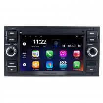 2005 Ford Fiesta Form Android 10.0 Aftermarket Radio GPS-Navigationssystem mit DVD-Player Bluetooth HD 1024 * 600 Touchscreen OBD2 DVR Rückfahrkamera TV 1080P Video 4G WIFI Lenkradsteuerung USB-Spiegelverbindung