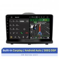 Beste Autoradio mit Bluetooth für OPEL ANTARA 2008-2013 mit Carplay / Android Auto WIFI-Unterstützung GPS-Navigation Lenkradsteuerung