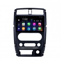 Android 10.0 9 Zoll HD Touchscreen GPS Navigationsradio für 2007-2012 Suzuki Jimny mit Bluetooth WIFI USB AUX Unterstützung Carplay DVR SWC