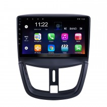 9 Zoll Android 10.0 für 2008 2009 2010-2014 Peugeot 207 Radio mit HD Touchscreen GPS Navigation Bluetooth Unterstützung Carplay DAB + OBD2