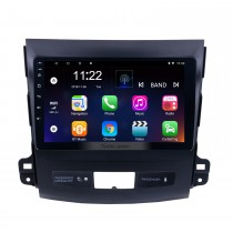 9-Zoll-Touchscreen 2006-2014 MITSUBISHI Outlander Android 10.0 Radio Bluetooth GPS-Navigationssystem mit WIFI-Unterstützung OBD2 DVR Backup-Kamera