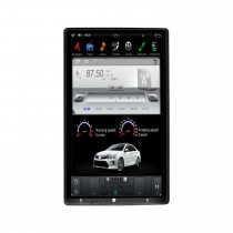 13,6 Zoll Android 9.0 Auto-Stereo-Sat-Multimedia-Player für universell einstellbares GPS-Navigationssystem auf der Vorderseite mit Bluetooth-Unterstützung Carplay