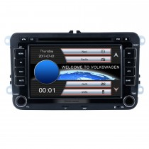 7 zoll HD Touchscreen 2 Din Universal Radio DVD Player GPS-Navigationssystem Auto Stereo für VW VOLKSWAGEN Sitz Golf Passat mit Bluetooth Telefon MP3 USB SD Multimedia player Unterstützung Aux Digital TV RDS