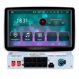 Android 9.0 2013-2016 Mercedes Benz Classe G W463 G550 G500 G400 G320 G270 G55 HD 1024 * 600 Écran sensível GPS Reprodutor de DVD WIFI Controle de volante