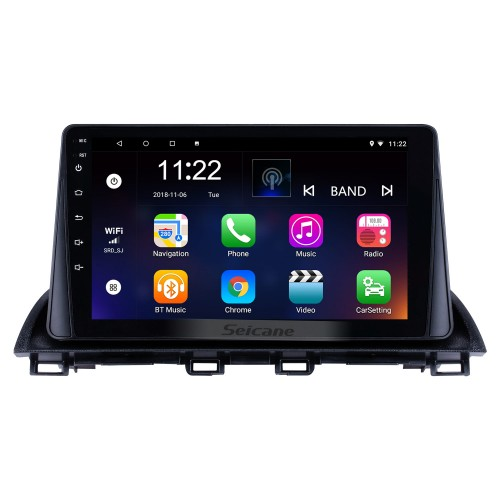 9 polegada 8 Núcleo Android 10.0 2014 2015 2016 2017 MAZDA CX-4 Sistema de Navegação GPS de Rádio com HD Touch Screeen USB 3G WIFI Bluetooth suporte de Música OBD2 Espelho Link TV Digital