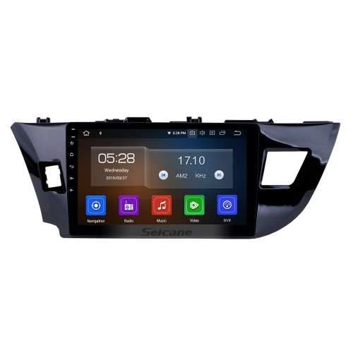 16G Quad-core Android 4.4.4 Autoradio GPS navigation system for 2014 Toyota LEVIN with DVD player Bluetooth HD touch screen OBD DVR Rear view camera Mirror link TV USB SD 3G WIFI Quad-core CPU IPOD