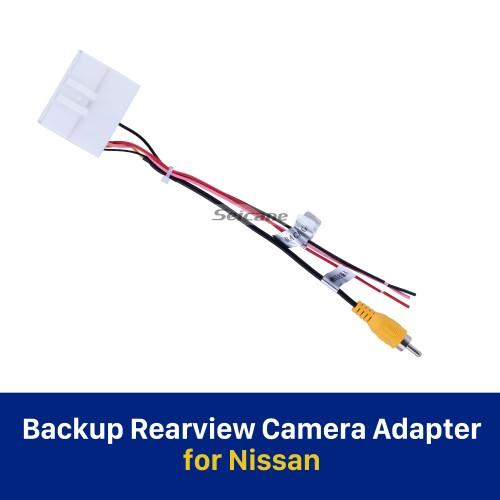 Adaptador de Câmera de Rearview de Backup de Nissan