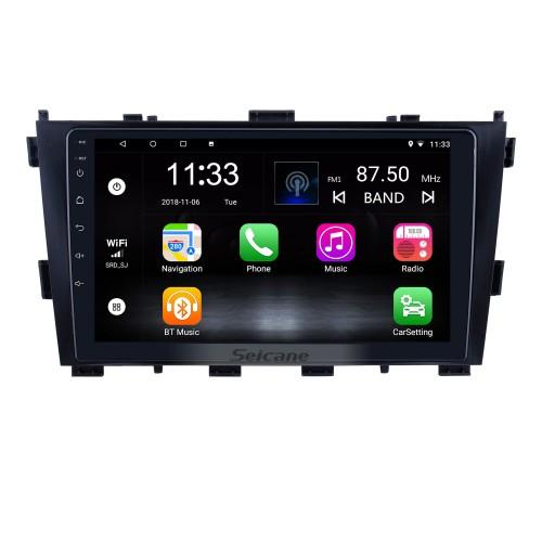 Para 2014 Baic Huansu Radio 9 polegadas Android 10.0 HD Touchscreen Sistema de Navegação GPS com suporte Bluetooth Carplay DAB +