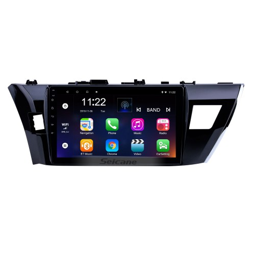 9 Inch Car DVD Player Radio GPS Navigation System For 2013 2014 2015 Toyota Corolla Chinese Version High Equipment With CANBUS TV tuner Remote Control Bluetooth Touch Screen
