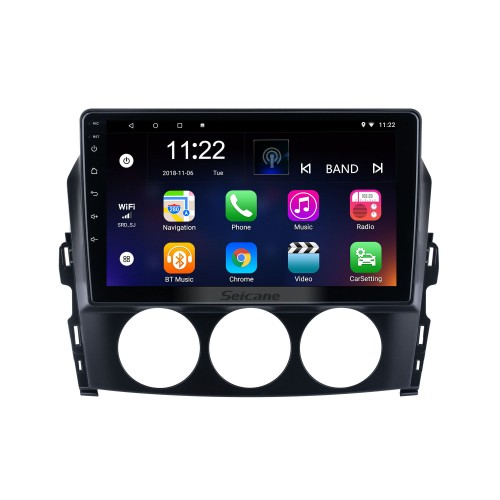Andriod 10.0 HD Touchsreen 9 polegadas 2009 Mazda MX-5 Sistema de navegação GPS com suporte para Bluetooth Carplay