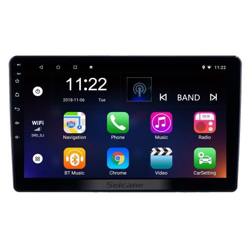Rádio de navegação GPS de 10,1 polegadas Android 10.0 HD com tela sensível ao toque para Honda Crider 2018-2019 com Bluetooth WIFI AUX com suporte Carplay Mirror Link