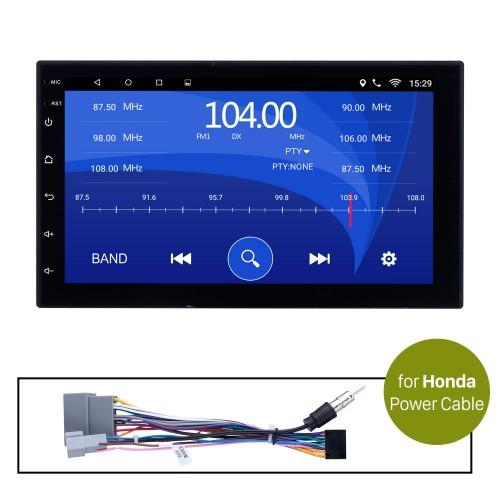 Car Radio Stereo Head Unit Power Cables For Honda For Model H605E