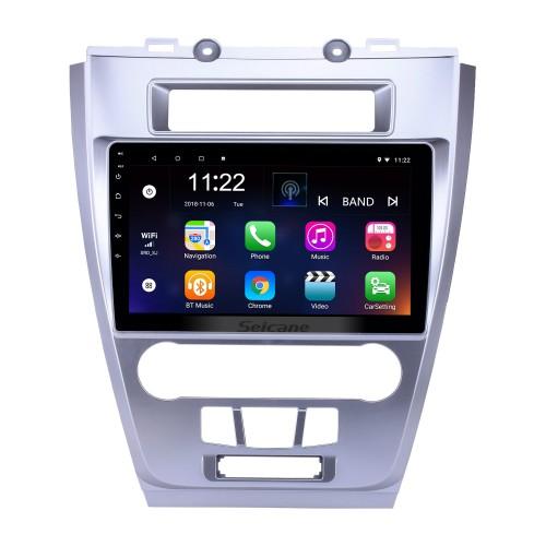 10,1 polegadas Android 10.0 HD Touchscreen GPS Rádio de Navegação para 2009 2010 2011 2012 Ford Mondeo / Fusion com Bluetooth WIFI AUX suporte Carplay Mirror Link