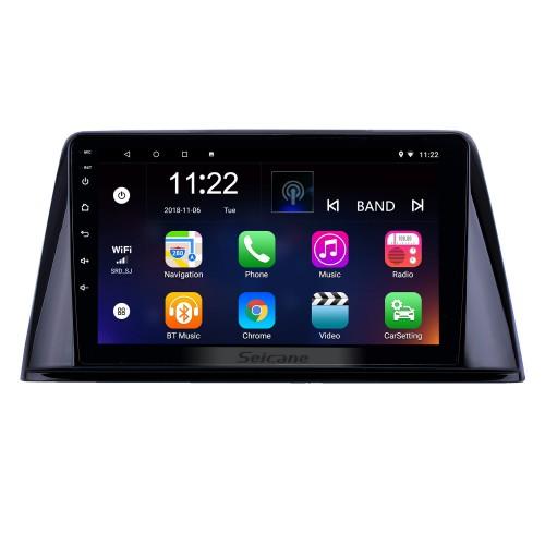 HD Touchscreen de 9 polegada Android 10.0 GPS Rádio de Navegação para 2016-2018 Peugeot 308 com Suporte de AUX Bluetooth Carplay Controle de Volante