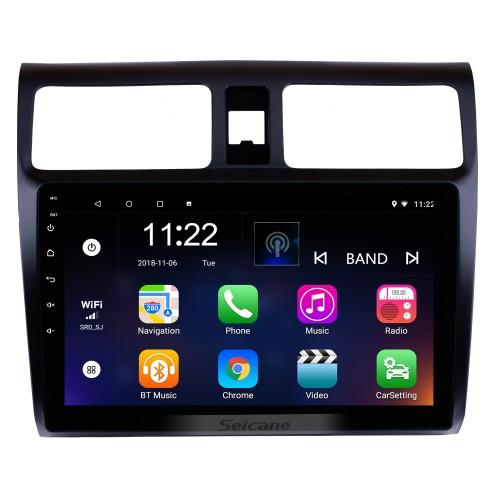 10.1 polegadas para 2005-2010 Suzuki Swift Android 10.0 HD Touch Screen Navegação GPS Rádio Digital TV Mirror Link 3G Wifi Bluetooth Música Controle de volante