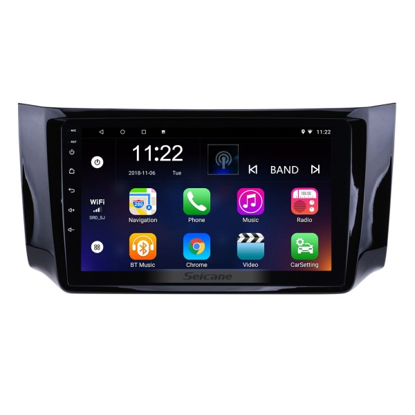 10.2 Inch Android 4.2 Touch Screen radio Bluetooth GPS Navigation system For 2012-2015 NISSAN SYLPHY with TPMS DVR OBD II USB SD 3G WiFi Rear camera Steering Wheel Control HD 1080P Video AUX