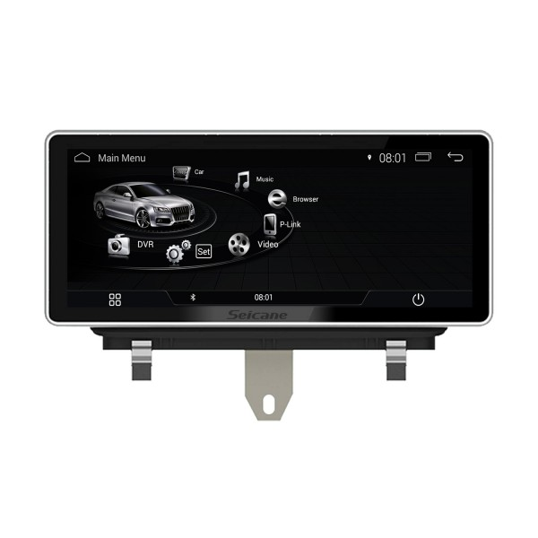10,25 polegadas Android 9.0 Radio for 2009 2010 2011-2015 AUDI Q3 Tela sensível ao toque Bluetooth Navegação GPS Upgrade Multimedia Player 3G WIFI Suporte USB Carplay DVR 1080P Video