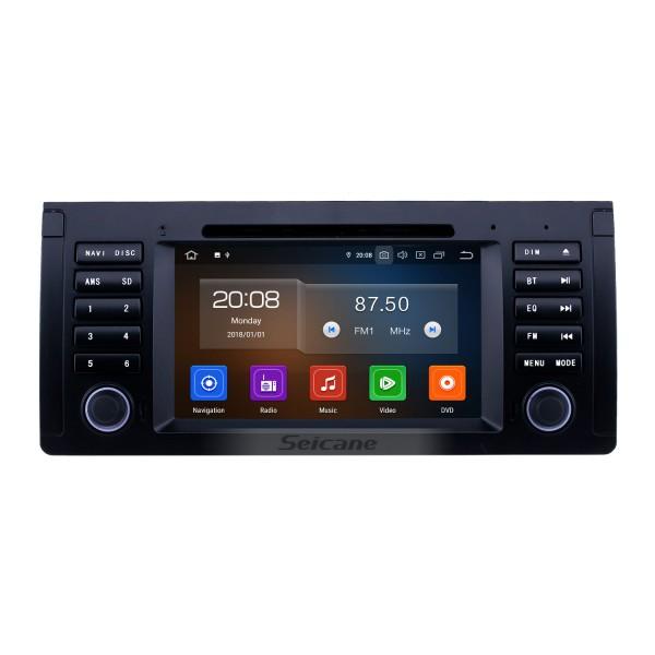 7 polegadas Android 10.0 Rádio de Navegação GPS para 1996-2003 BMW 5 Série E39 com Bluetooth Wifi HD Touchscreen Carplay suporte TV Digital OBD2