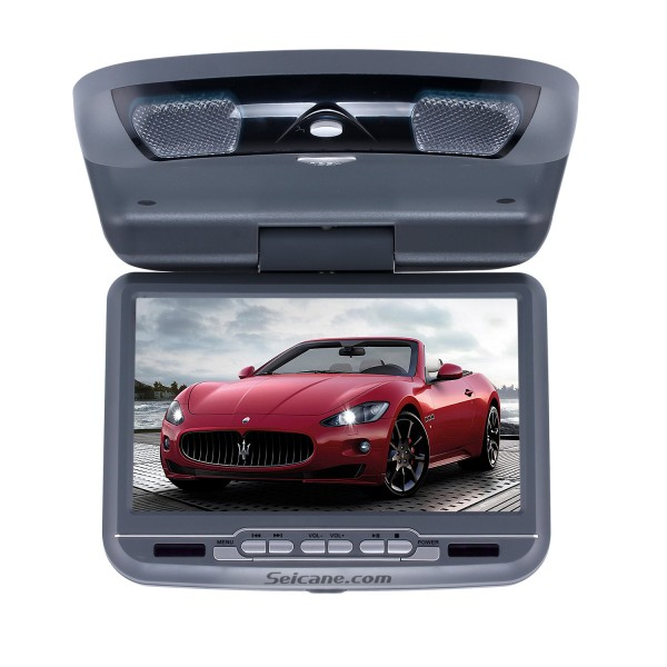 Roof Mount DVD Player 9 inch with FM USB SD Games-1