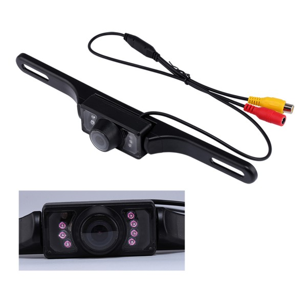 HD Rearview LED Camera For Lexus ES350 Support Waterproof,Shockproof and clear night vision with no need to drill hole+Automatic white balance-1
